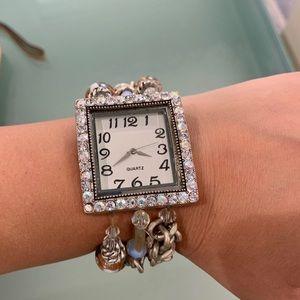 Glass bead watch